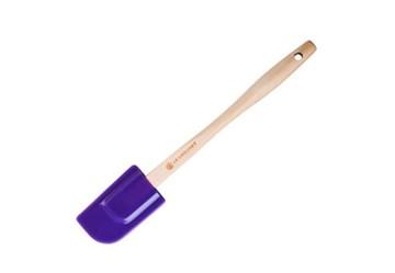Imagen de Espátula mediana silicona violeta