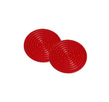 Imagen de Set 2 mini salvamanteles silicona cereza