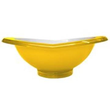 Imagen de  Ensaladera de la línea GLAMOUR color amarillo de 2