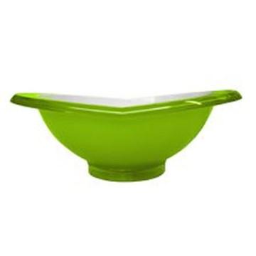 Imagen de Ensaladera de la línea GLAMOUR color verde manzana