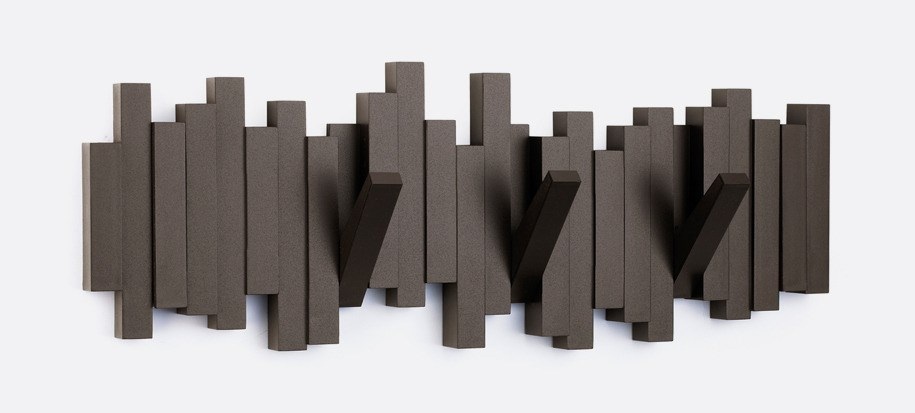 picture of perchero de pared espresso x sticks