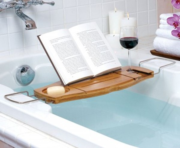 Puntodesign   decoración del hogar. bandeja expansible para bañera ...