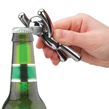 Imagen de Destapador de botellas cromo BUDDY