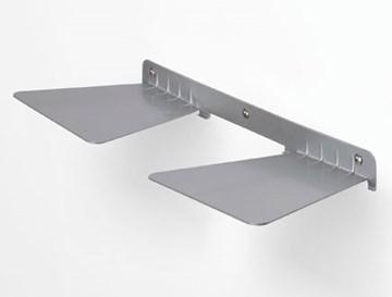 Imagen de Repisa flotante gris DOBLE CONCEAL