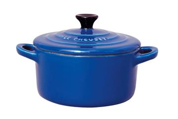 Imagen de Cazuelita MINI COCOTTE 10 cm azul cobalto