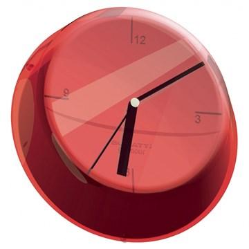 Imagen de Reloj de pared rojo GLAMOUR