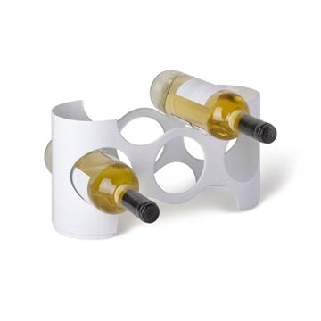 Imagen de Rack para vino modelo NAPA en color blanco