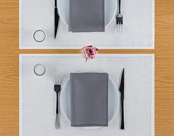 Imagen de Servilletas de tela descartables - Rollo 25 unidades (20x20 cm)