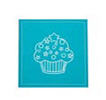 Imagen de Servilletas de tela descartables Cupcake - Rollo 12 unidades (20x20 cm)