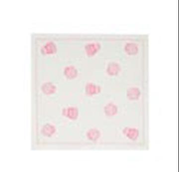 Imagen de Servilletas de tela descartables Cupcake Crudo - Rollo 12 unidades (20x20 cm)