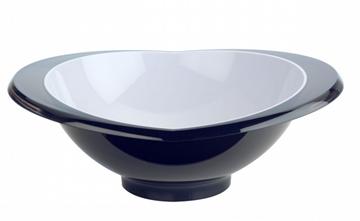 Imagen de Ensaladera de la línea GLAMOUR color negro de 2,5