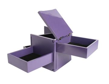 Imagen de Caja bijou violeta TUCK