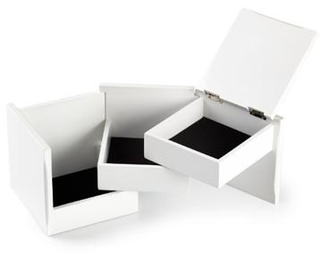 Imagen de Caja bijou blanco TUCK