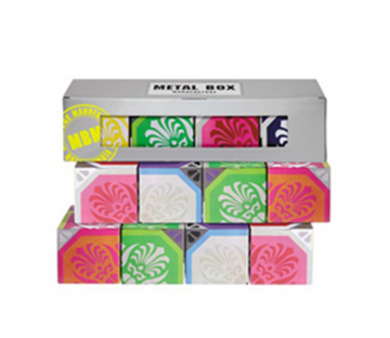 Imagen de 4 cajas de 100 g surtidas modelo AZULEJOS POP