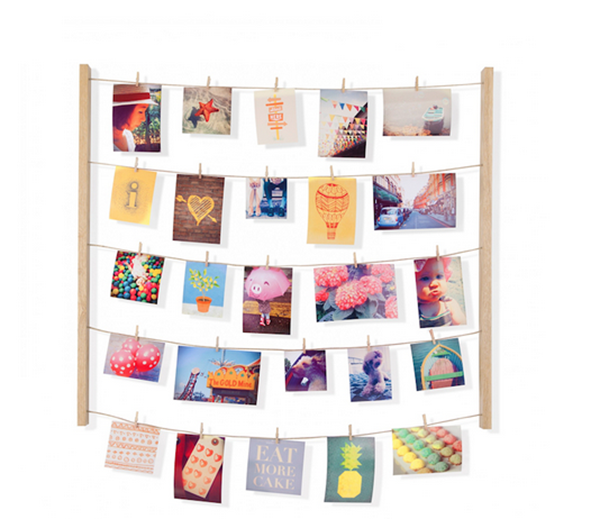 Puntodesign - Decoración del hogar. Colgante fotos natural x40 HANGIT