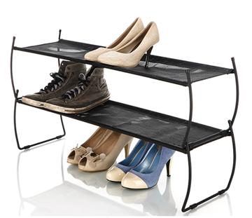 Imagen de Organizador de zapatos negro IMELDA