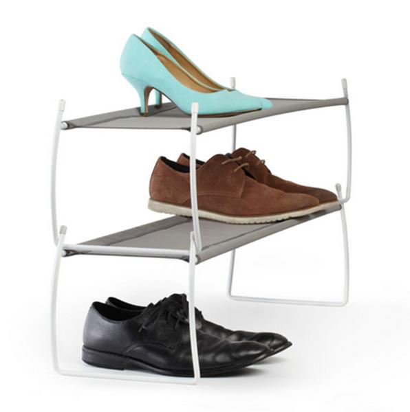 Puntodesign decoraci n del hogar organizador de zapatos - Organizador de zapatos para armario ...
