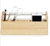 Picture of Caja con compartimentos blanco / natural TOTO