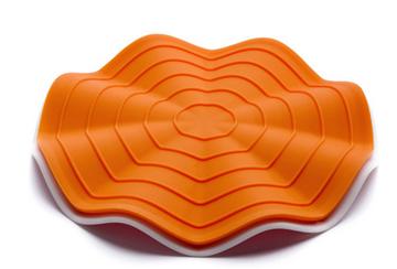 Imagen de Salvamantel + agarre naranja HEATWAVE