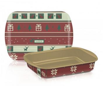 Imagen de Asadera honda de Navidad de 34 cm