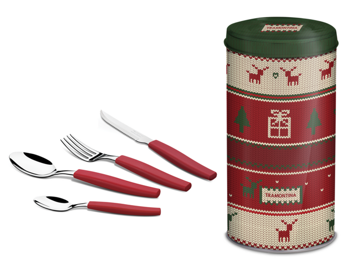 Puntodesign - Decoración del hogar. Juego de cubiertos de Navidad 24 ...