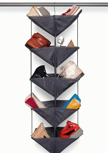 Puntodesign decoraci n del hogar organizador de zapatos negro enfold - Organizador de zapatos ...