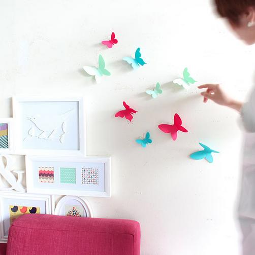 Puntodesign decoraci n del hogar decoraci n pared - Mariposas decoracion pared ...