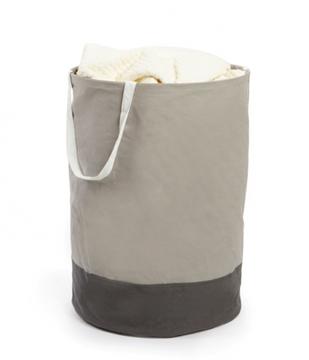 Imagen de Bolsa de tela redonda gris CRUNCH
