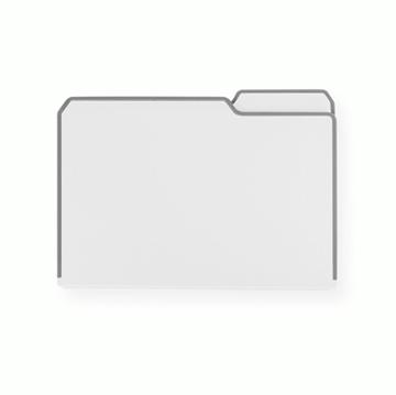 Imagen de Tabla de corte blanca CHOPFOLDER