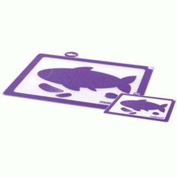 Imagen de Set 2 tablas de cocina violeta