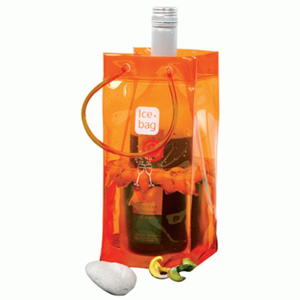 Picture of Bolsa para 1 botella naranja BASIC
