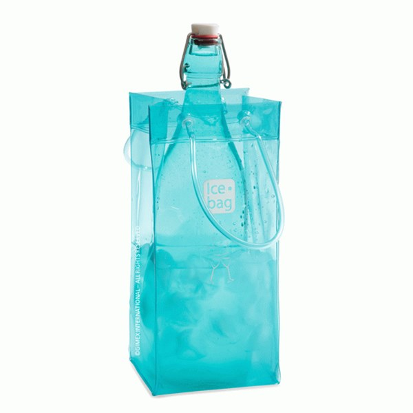 Picture of Bolsa para 1 botella turquesa BASIC