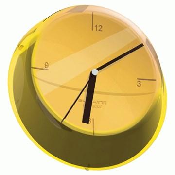 Imagen de Reloj pared amarillo GLAMOUR