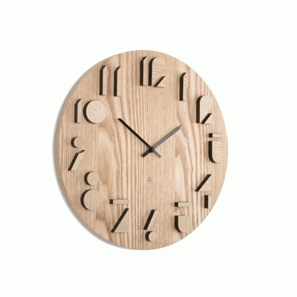 Picture of Reloj de pared natural SHADOW