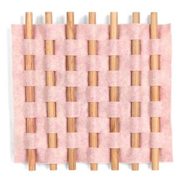 Imagen de Decoración de pared rosa LOOMA