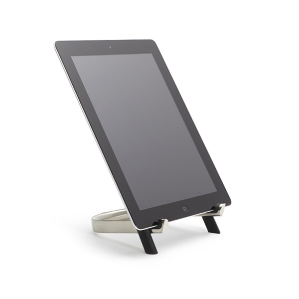 Picture of Soporte tablet negro/níquel UDOCK