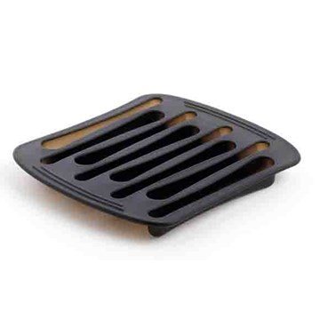Imagen de Molde hielo forma cucharas negro