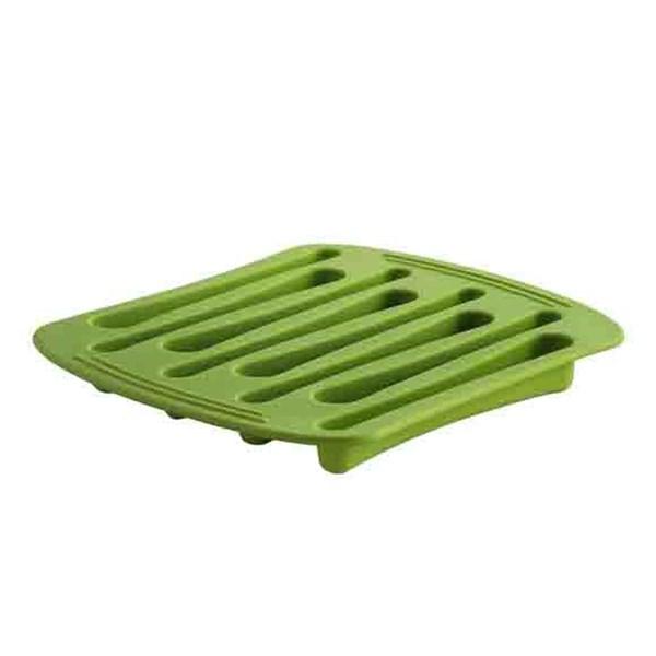 Picture of Molde hielo forma cucharas verde