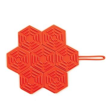 Imagen de Salvamantel plegable rojo