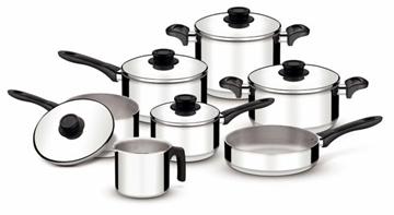 Imagen de Batería de cocina de 7 piezas de la línea TOSCANA
