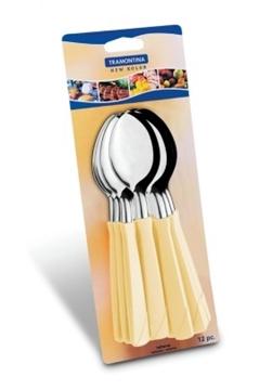Imagen de Blíster de 12 cucharas de mesa marfil NEW COLOR