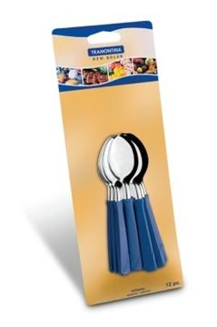 Imagen de Blíster 12 cucharas de té azules New Color