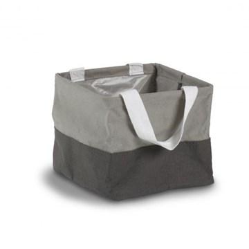 Imagen de Bolsa de tela mini gris CRUNCH