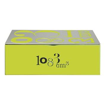 Imagen de Caja para azúcar verde 1kg Volumétrie