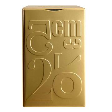 Imagen de Caja para café dorada 250gr Volumétrie