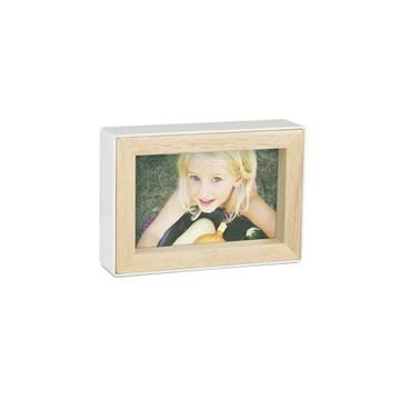 Imagen de Portarretratos 10x15cm blanco FOTOBLOCK