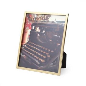 Imagen de Portarretratos bronce mate 20x25cm SENZA