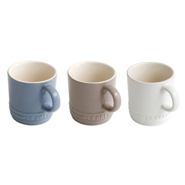 Puntodesign decoraci n del hogar set de 3 tazas para - Decoracion de tazas ...