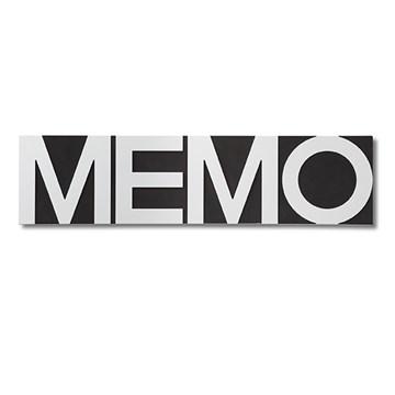 Imagen de Tablero blanco/negro MEMO