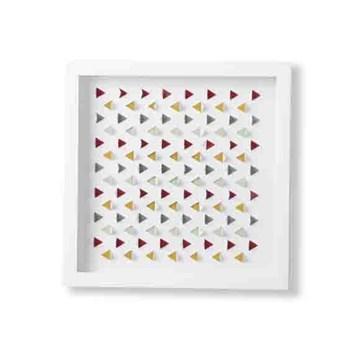 Imagen de Decoración pared blanco GEOMETRIC